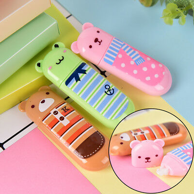 1Pc Animal Correction Tape School Office Supplies Stationery Kids F&TB