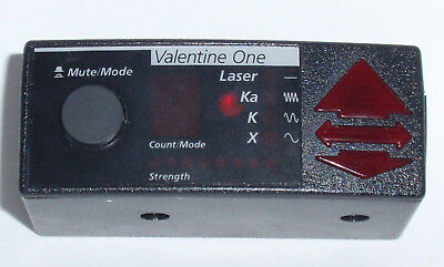 VALENTINE ONE 1 V1 OEM CONCEALED DISPLAY w/ ESP and BAND IDENTIFICATION