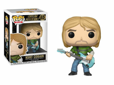 Funko POP Vinyl Rock ! Kurt Cobain  - #65 - Nirvana NEW !!!