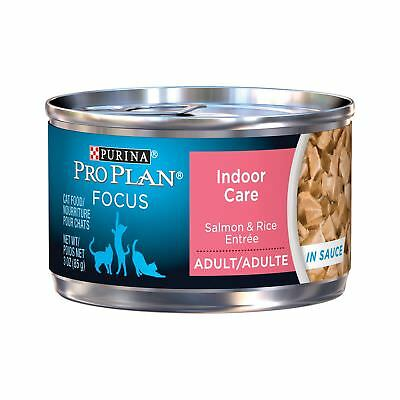 Pro Plan Focus Indoor Care Canned Cat Food 24 Pack
