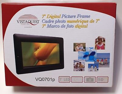 "VistaQuest 7"" Digital Picture Frame - Brand New"