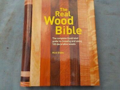 The Real Wood Book By Nick Gibbs - Isbn 1-55407-033-3