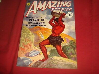 AMAZING STORIES #14   British UK Pulp Magazine 1952