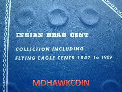 Near Complete Indian Head Cent Set, 52 Different Issues