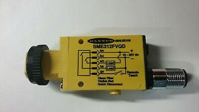 **new** Banner Sme312Fvqd Mini-Beam Programmable Dc  Photoelectric Sensor  53729