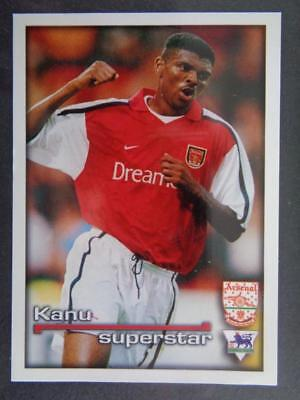 Merlin Premier League 2001 - Superstar Kanu Arsenal #6