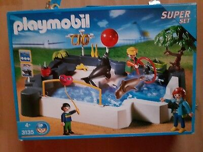 playmobil 3135 zoo seehundbecken