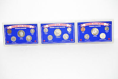 Americana Series Coin Collections Yesteryear, Vanishing Classics, Presidents