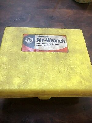 """Chicago Pneumatic 3/8"""" Drive Midget  Air Wrench CP-720"""