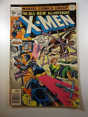 The Uncanny X-Men #110 Warhawk Strikes! Solid VG+ Condition!!