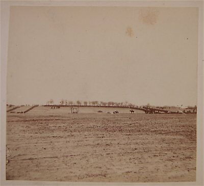 1860s CIVIL WAR PHOTO OF AFRICAN AMERICAN / USCT SOLDIERS EXECUTION By BRADY