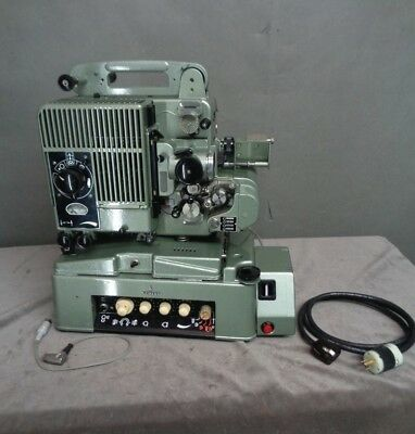 VTG 50s SIEMENS 2000 Projector,Universal Amplifier,Recording Stage+Manuals/Cases