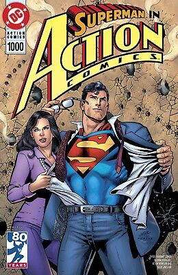 ACTION COMICS 1000 DAN JURGENS 1990's 90's DECADES VARIANT SUPERMAN NM