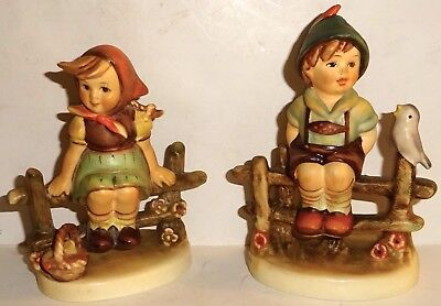 LOT of TWO (2) VINTAGE HUMMEL FIGURINES~NUMBERS 112~111~LOT #4! NR!