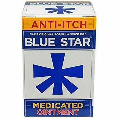 Blue Star Ointment with Soothing Aloe 2 OZ