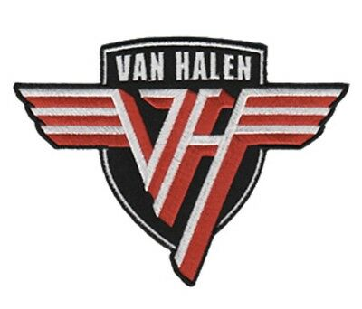 Van Halen Shield Embroidered Patch V007P AC/DC Thin Lizzy Scorpions