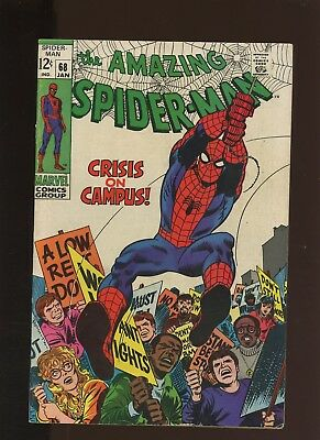 Amazing Spider-Man 68 FN/VF 7.0 *1 Book* 1st Louis Wilson! 2nd Randy Robertson!!