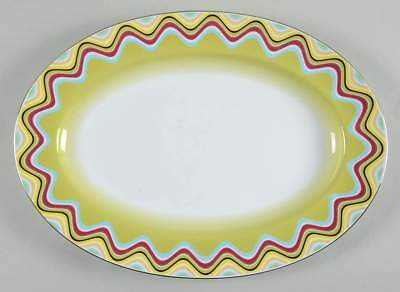 "Missoni Home MARGHERITA 14 1/4"" Oval Serving Platter 5913147"