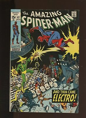 Amazing Spider-Man 82 VF/NM 9.0 *1 Book* Electro Origin! Romita Cover! Sr. Art!