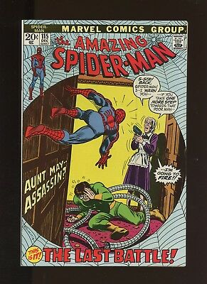 Amazing Spider-Man 115 VF 8.0 *1 Book* Final Battle! Doctor Octopus! Hammerhead!