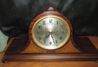 Vintage TELECHRON REVERE CLOCK TWO CHIMEWestminster & CANTERBURY 2 CHIME 6 RODs