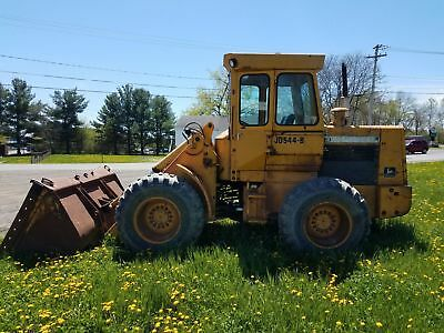 1980 John Deere 544B Wheel Loader - Full Cab - Good Tires - 3rd Valve