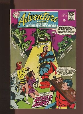 Adventure Comics 370 FN/VF 7.0 *1 Book* Devil's Jury! Lana Lang (Insect Queen)!