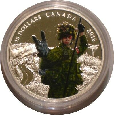 2016 Silver $15 Silver Dollars Canada MILITARY National Heroes superb Gem