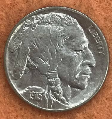1915 D Buffalo Nickel AU/BU