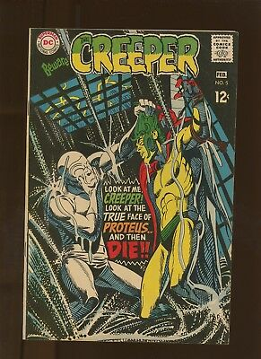 Beware the Creeper 5 FN 6.0 * 1 Book * Color of Death is Rain by O'Neil & Ditko!