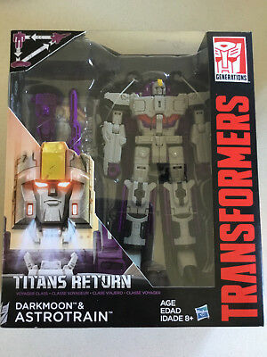 Transformers Titans Return Voyager Class Darkmoon And Astrotrain