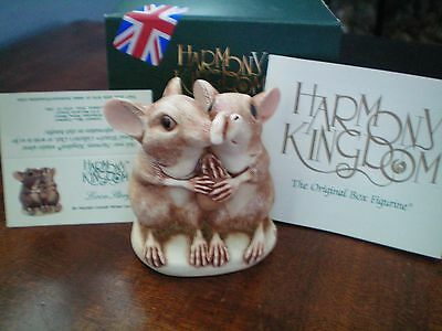 Valentine Romance Annual Harmony Kingdom Love Story Elephant Shrews UK Made NIB