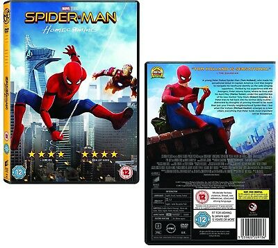SPIDER-MAN 2017 (6): HOMECOMING: SpiderMan vs Vulture  Tom Holland R2 DVD not US