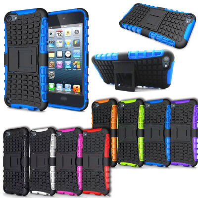 For Apple iPod Touch 5th 6th Gen Heavy Duty Armor Stand Hybrid Hard Case Cover