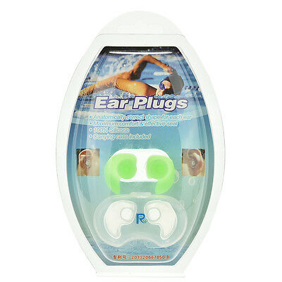 Silicone Ear Plugs - Adult - Hypo-allergenic Earplugs for Swimming/swimmer