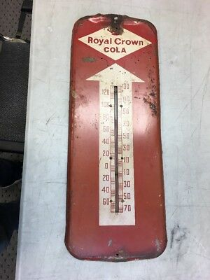 Vintage Royal Crown RC Cola Thermometer Soda Soft Drink