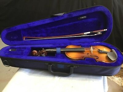 Belmont 1/8th, Violin in case New old stock