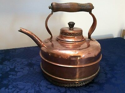 Vintage SIMPLEX COPPER Kettle with Heat COIL