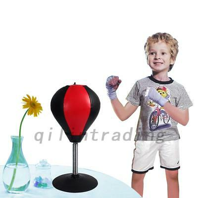 Desktop Punching Ball Boxing Punch Bags Stress Relieve Remover Gifts Toys New