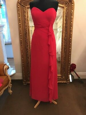 Raspberry Pink Prom Bridesmaid Party Dress Bella Formals by Venus Size 16