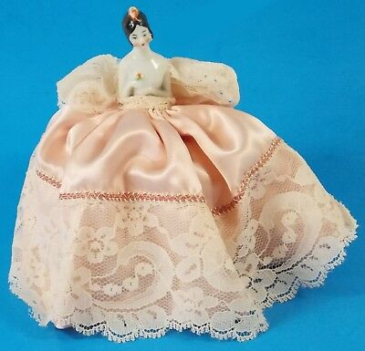 Antique Small Pincushion Doll German Very Sweet!