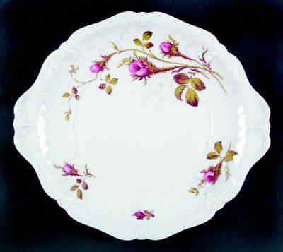 Royal Heidelberg ROSE BRIER (WHITE) Handled Cake Plate 623181