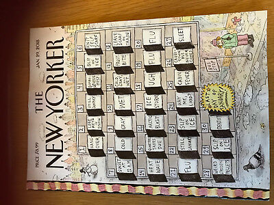 New *** THE NEW YORKER MAGAZINE JAN 29, 2018 cover