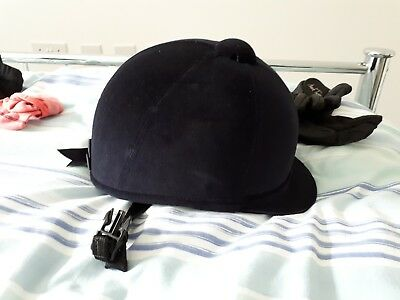charles owen riding hat 55- used