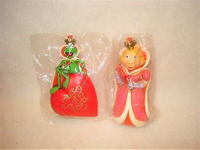 1982 Hallmark *KERMIT & MISS PIGGY* Valentines Merry Miniatures -New sealed pkgs