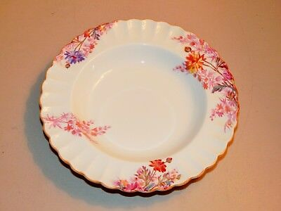 Lovely Spode Chelsea Garden Wide Rim Soup Bowl, Great Color, 3 Available