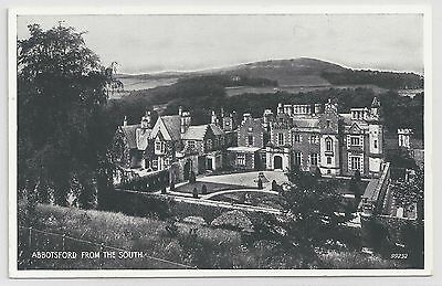 """Valentine's """"Silveresque"""" Postcard – Abbotsford from the South."""