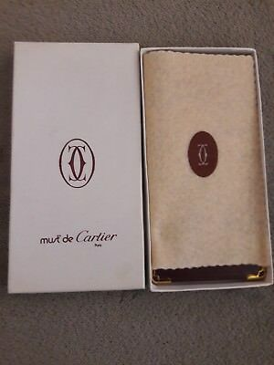 New Cartier Leather Eyeglass Case
