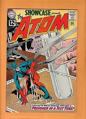 Showcase  #36 1962 3rd appearance of The Atom