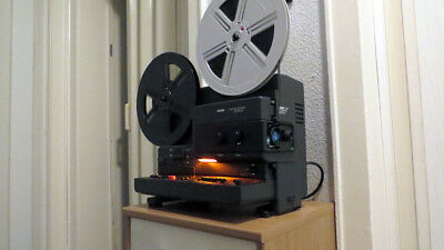 Super 8 / Single 8 Tonfilmprojektor Bauer T 502   T502  Automatic-Duoplay